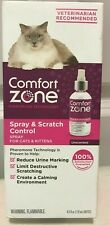 Comfort Zone Spray & Scratch Control Cat Calming Spray, 4.0 oz.