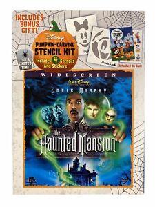 RARE Disney Haunted Mansion 2004 Halloween Edition new DVD Eddie Murphy ws
