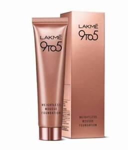 Lakme 9 to 5 Weightless Mousse Foundation Beige Vanilla 29g