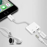 Lightning To 3.5mm Earphone Audio Headphone Adapter Cable For iPhone 7 Plus Nice