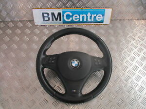 BMW 1 3 SERIES E81 E87 E90 E91 E92 M SPORT MULTIFUNCTION STEERING WHEEL REF:LN45