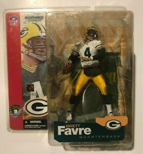 Mcfarlane NFL Figures Green Bay Packers Brett Favre Series 4 White Variant Chase