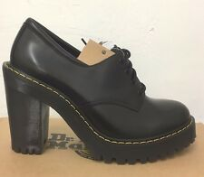 DR. MARTENS SALOME BLACK  BUTTERO LEATHER  SHOES SIZE UK 9