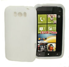 Silicona TPU, móvil, funda carcasa tapa protección funda protectora en blanco para HTC Titan