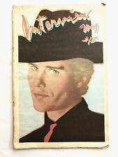 Andy Warhol's INTERVIEW Magazine John Savage Dolly Parton May 1979