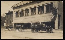 EAU CLAIRE WI Wisconsin c1910 RP Eau Claire Creamery Company Delivery Truck