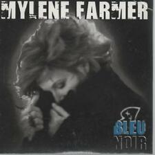 Mylene Farmer Bleu Noir CD SINGLE card sleeve NEUF new neu