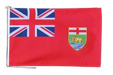 Manitoba Canada Drapeau 3'x2' (90cm x 60cm) Avec Corde Et Bouton