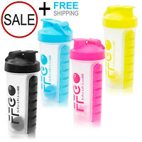Sport Gym Protein Supplement Shaker Bottle 28oz Cup/Vitamins Storage/Mixer Ball