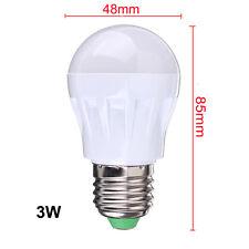 220V LED Sensor Sound Light Control Lampe 3W 5W 7W E27 Intelligent Bulb Lamp