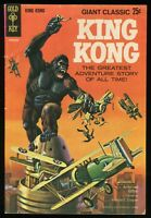 King Kong Giant Classic Gold Key comic 1968 Alberto Giolitti art Bagged-Boarded