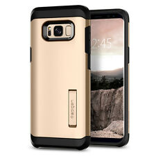 Spigen® Samsung Galaxy S8 [Tough Armor] Shockproof TPU Kickstand Case Cover