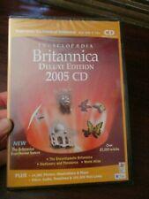 ENCYCLOPAEDIA Britannica Deluxe Edition 2005 CD Rom (NEW)
