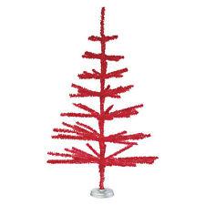 Rote Weihnachtsbäume