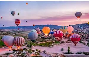 1000 Piece Jigsaw Puzzle Hot Air Balloons 69 x 51cm Landscape