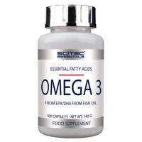 (9,99€/100g) Scitec Nutrition Omega 3 Fettsäuren 100 Kapseln + Probebeutel