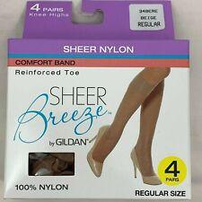 3 Pair Low Cut Footies Foot Covers Sheer Breeze Beige Foot Liners  37301