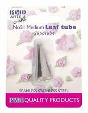 PME #51 Medium Leaf Stainless Steel Icing Fondant Piping Decorating Nozzle Tip