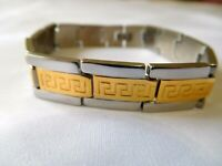 New Charm Silver Gold Tone Metal Bracelet  Jewelry US Seller