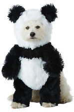 Brand New Panda Bear Pooch Pet Dog Costume