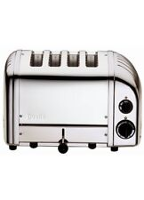 New Dualit 4 Slice-Slot Classic Toaster D4BMHA Stainless Steel