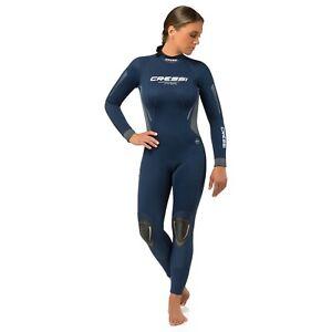 Cressi 3mm Ladys Fast Full Wetsuit Back-Zip