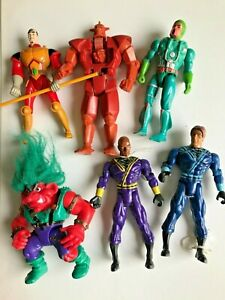 LOT figurines  tyco troll  telepix highlander ramirez sungo  - 90'S  figure