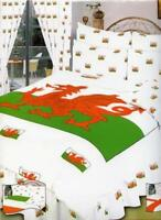 Welsh Dragon Wales SINGLE SIZE Duvet Cover Valance Curtains P/Case Bedding Set