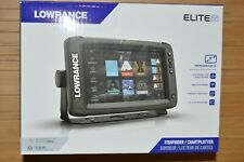 lowrance elite 9 ti2 fishfinder touchscreen active imaging 3-n-1 transducer New