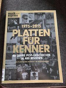 Zeitschrift Buch Musik Express Sonderheft 40 Jahre Popgeschichte Platten Monats