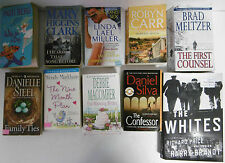 TEN (10) ASSORTED BOOKS DANIELLE STEEL, RICHARD PRICE, DANIEL SILVA & MORE