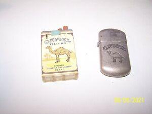 2 CAMEL CIGARETTES - LIGHTERS - 1 unlit