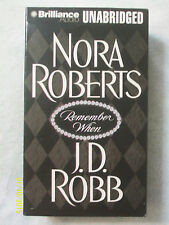 Remember When by Nora Roberts as J.D. Robb (2003, 10 Audio cassettes, Unabr.)