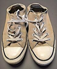 Converse All Star Worn Beige Canvas Classic Low Top Sneakers Women's Size 6