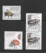 SWEDEN .Various Insects issues MINT NH