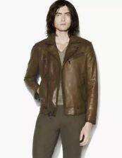 Brand New John Varvatos Asymmetrical Biker Leather Jacket. Size 40 50 $1898