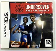 Undercover mène ton enquête - Nintendo DS / 3DS - FR - Avec notice