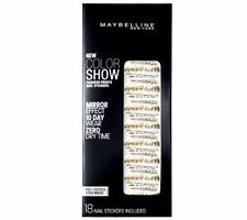 Maybelline Fashion Prints Mirror Effect Nail Stickers - 10 Golden Distress New
