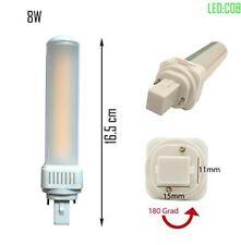 LED G24d PL C pin2 Leuchtmittel PL-C 4000K 8W Universal G24d 2pin