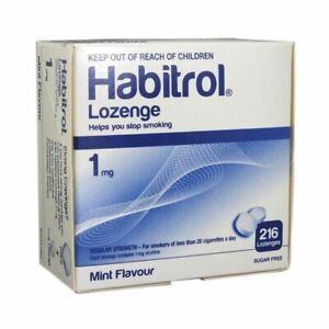 Habitrol Nicotine 1mg Mint Lozenge - 216 Lozenges
