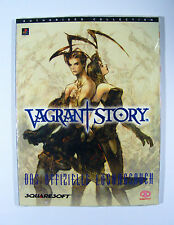 LEIDER AUSVERKAUFT!   Lösungsbuch VAGRANT STORY PlayStation 1 NEU in Folie Spiel