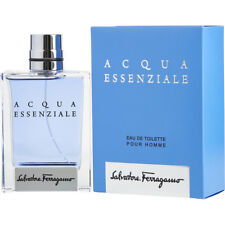 SALVATORE FERRAGAMO AQUA ESSENZIALE EDT POUR HOMME 5ml RARE+MINIATURE+NEW+BOXED