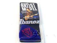 Ibanez Guitar Picks  Paul Gilbert Signature  Blue Jewell  Heavy  6 Pack