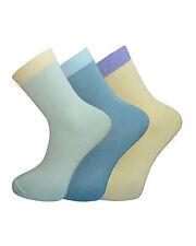 3 Pairs Pack Ladies BAMBOO Ankle Socks Super Soft Antibacterial