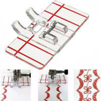 Multifunction Border Guide Foot Foot Presser Parallel Stitch Sewing Machine
