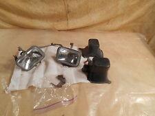 T1113 1994 94 HONDA TRX300 FOURTRAX HEAD LIGHTS + HARNESS SHROUDS 33100-HC4-750