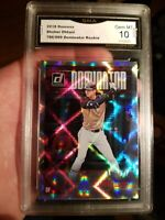 SHOHEI OHTANI GEM MINT 10 ROOKIE 2018 Donruss Dominator SP Card #786/999