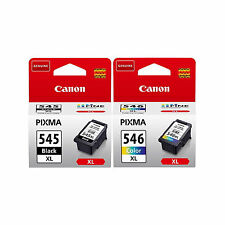 Genuine Canon PG545XL BL & CL546XL CL Cartridge For PIXMA MG2550 (545XL546XL)