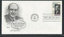 # 1275 ADLAI STEVENSON, GOVERNOR & AMBASSADOR 1965 Artmaster First Day Cover