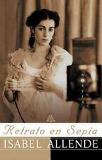 NEW - Retrato en Sepia: Una Novela by Allende, Isabel